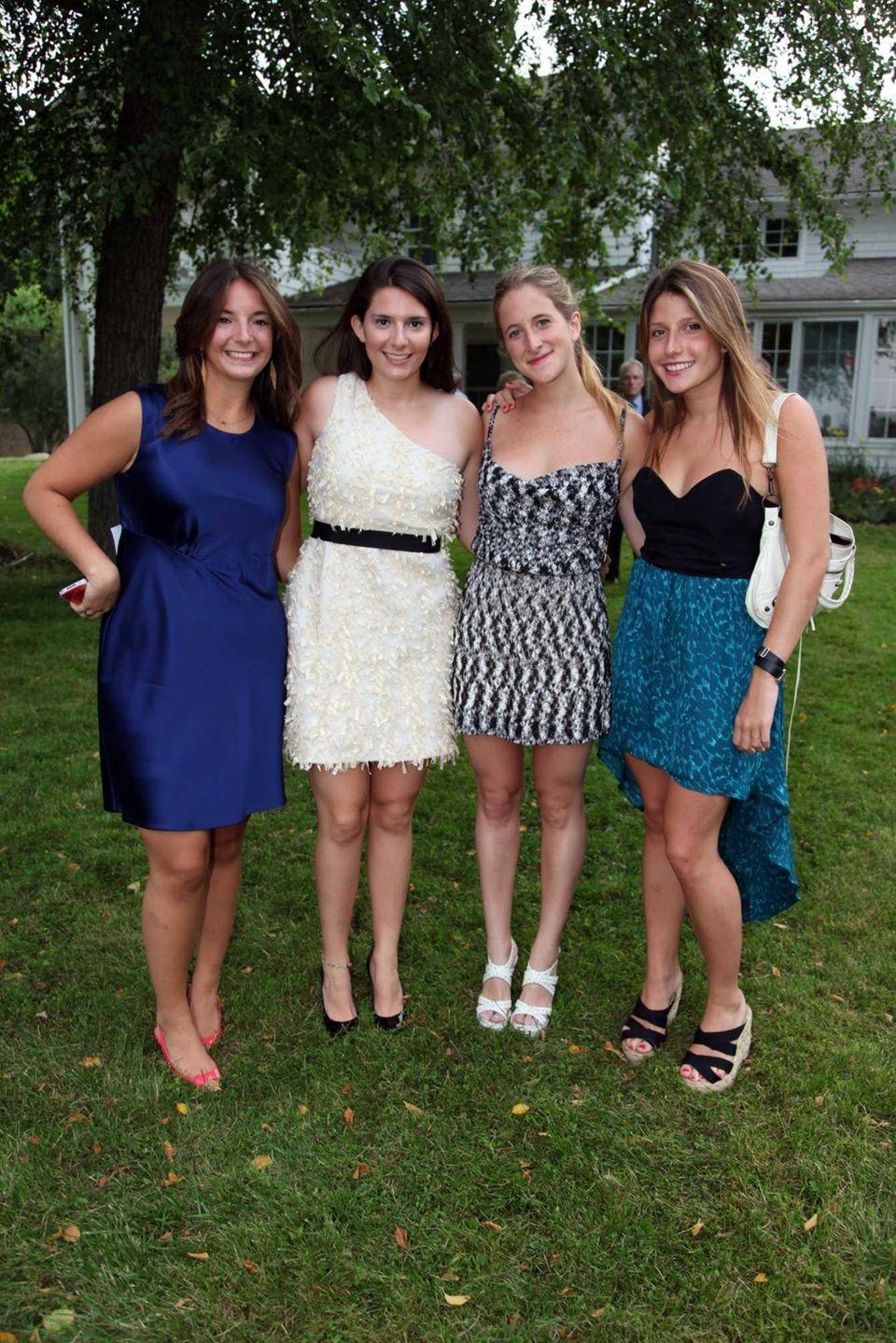 Ema Ricardi, Isabelle Ricardi, Jessica Kempner, and Charlotte