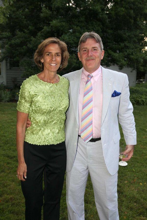 Nancy Kelley and Chris Kelley