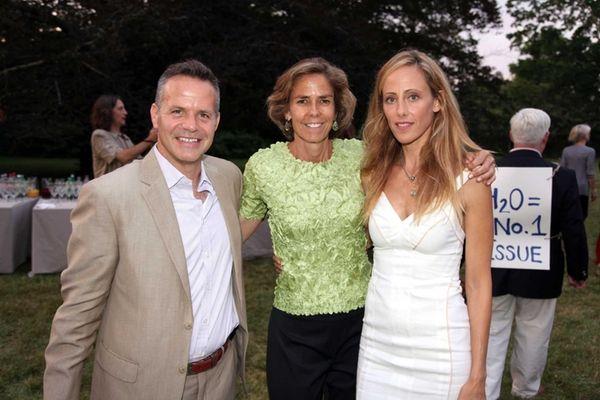 Bill Ulfelder, Kim Raver, and Nancy Kelley attend
