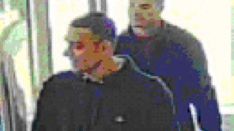 Nassau County police said two men seen on