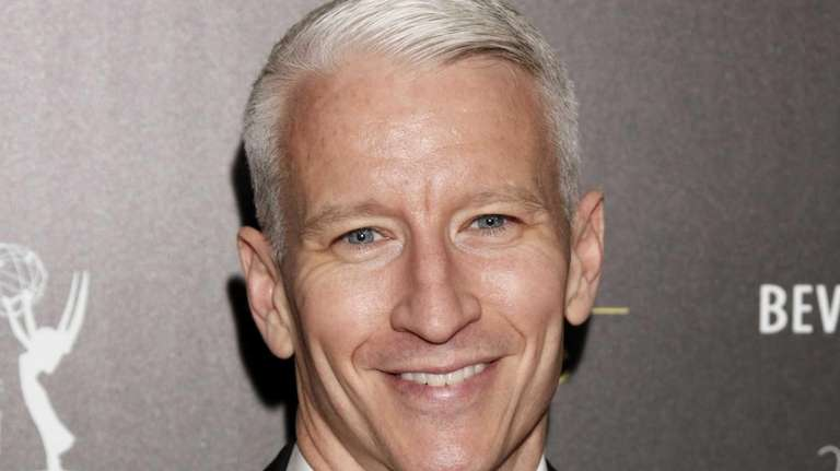 CNN's Anderson Cooper arrives at the 39th Annual