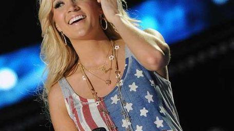 Carrie Underwood in a tank by Haute Hippie