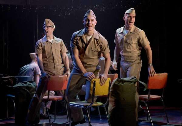 DOGFIGHT, directed by Joe Mantello, is playing at
