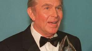 Actor Andy Griffith is all smiles following his