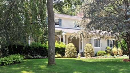 This 10-room Colonial at 11 Cat Hollow Rd.