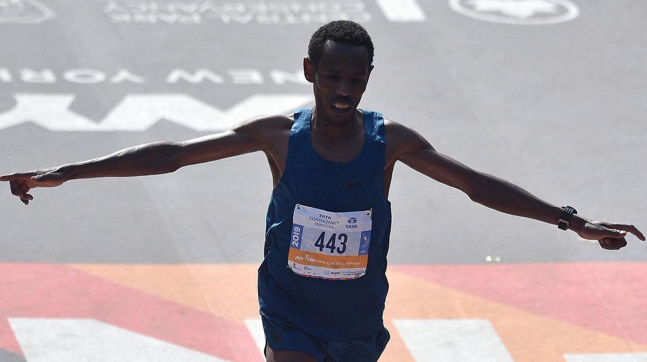 Unknown Gebre shocks racing world with third at NYC marathon