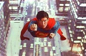 Christopher Reeve in a scene from the 1978