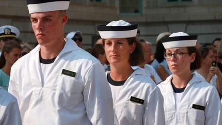 Known as plebes, more than 1,200 incoming freshmen,