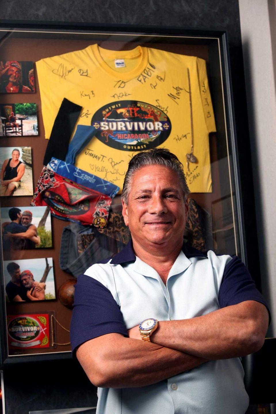 At 63, real estate executive Dan Lembo, who