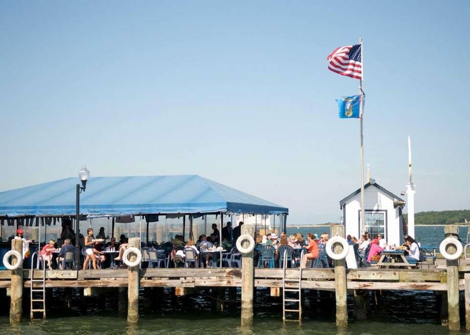 Claudio's Clam Bar, Greenport: Part of the Claudio's
