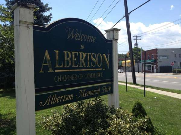 Albertson is a hamlet in Nassau County that