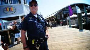 Suffolk County Police officer Joe Pignataro, of Suffolk