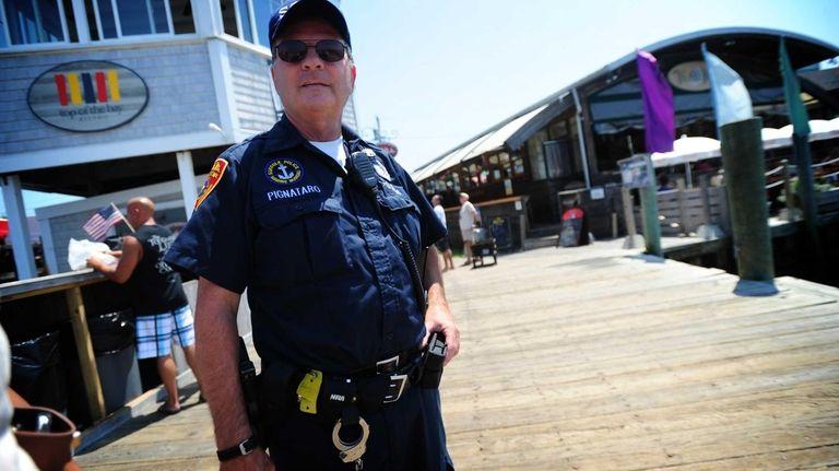 Suffolk County Police officer Joe Pignataro, of Suffolk
