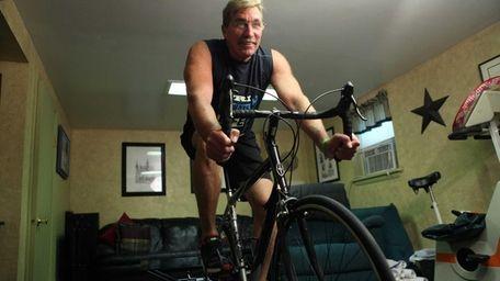 John Acquaro 58, who had a heart transplant