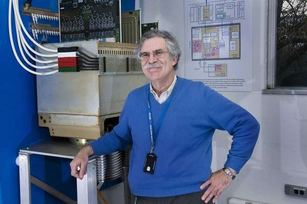 Scientist Howard Gordon, a 42-year BNL veteran, is