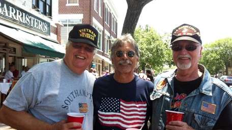 Left to right: Ken Miller, 69, Nick Klemuk,