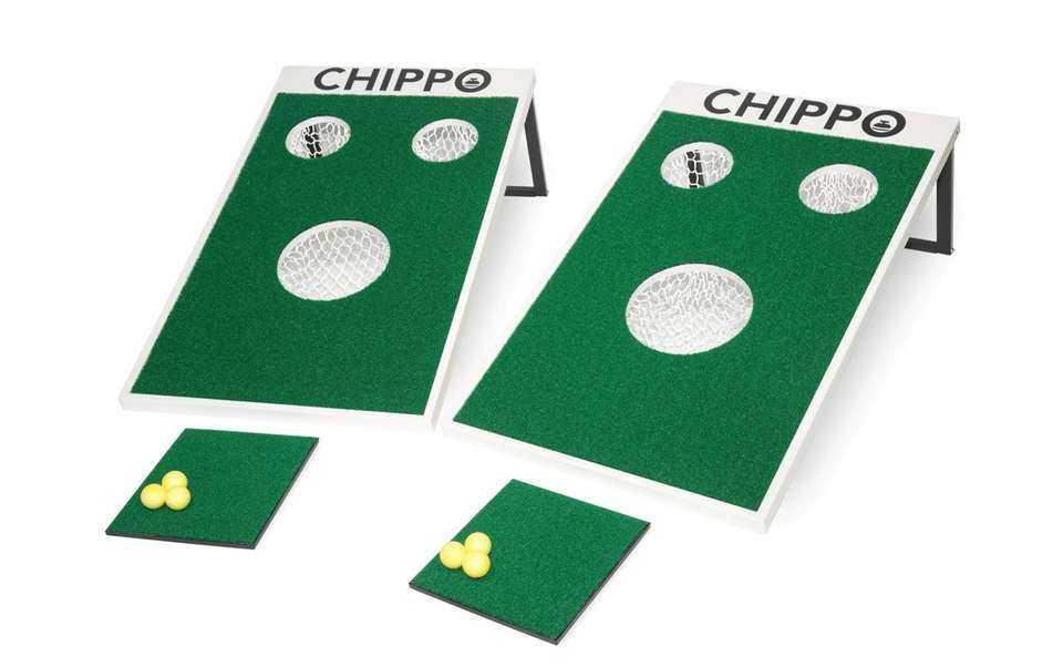Easy to transport, the Chippo golf set is