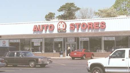 This is Aid Auto Stores on Sunrise Highway.