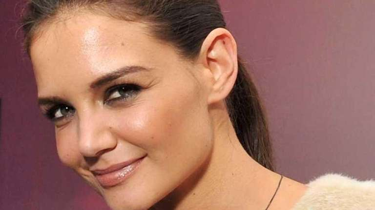 Actress Katie Holmes attends the