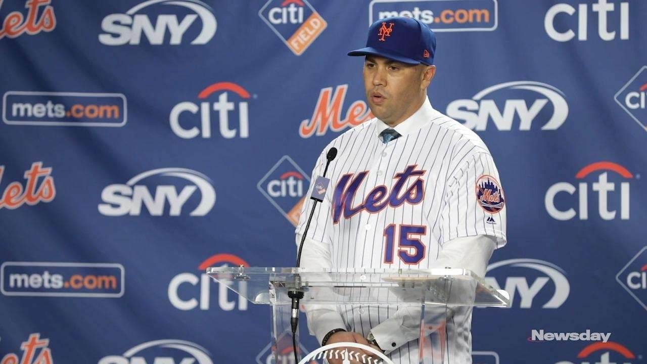 Mets Introduce Carlos Beltran As Manager Newsday