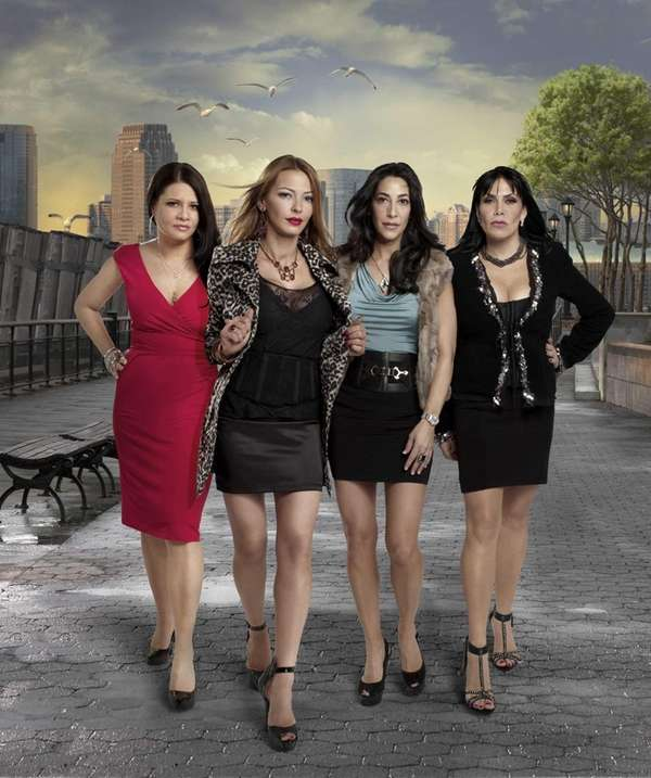 The cast of MTV's ?Mob Wives?, 2011, from