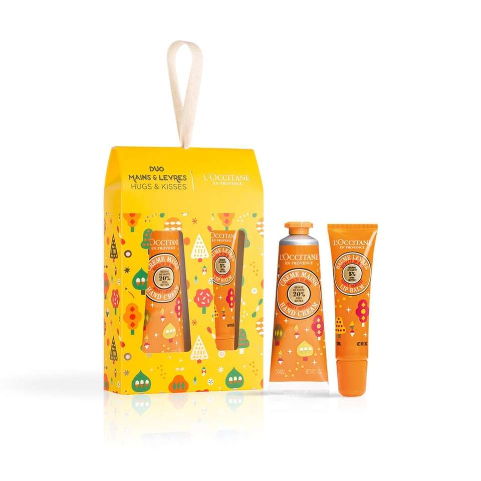 These mini gift set features Honey Harvest Hand