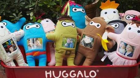The Huggalo doll ($24.95; huggalo.com) features a soft