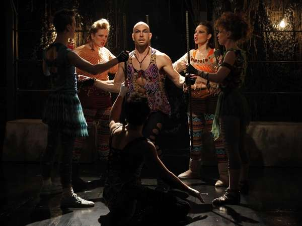 """""""Triassic Parq The Musical, performing Off-Broadway at The"""