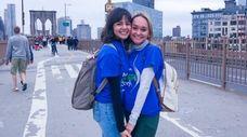 Emily Keleher, left, and Jackie Rafferty. They were
