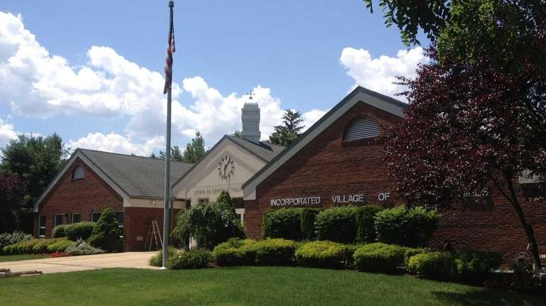 North Hills Village Hall, shown on July 2,