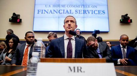 Facebook CEO Mark Zuckerberg arrives for a House