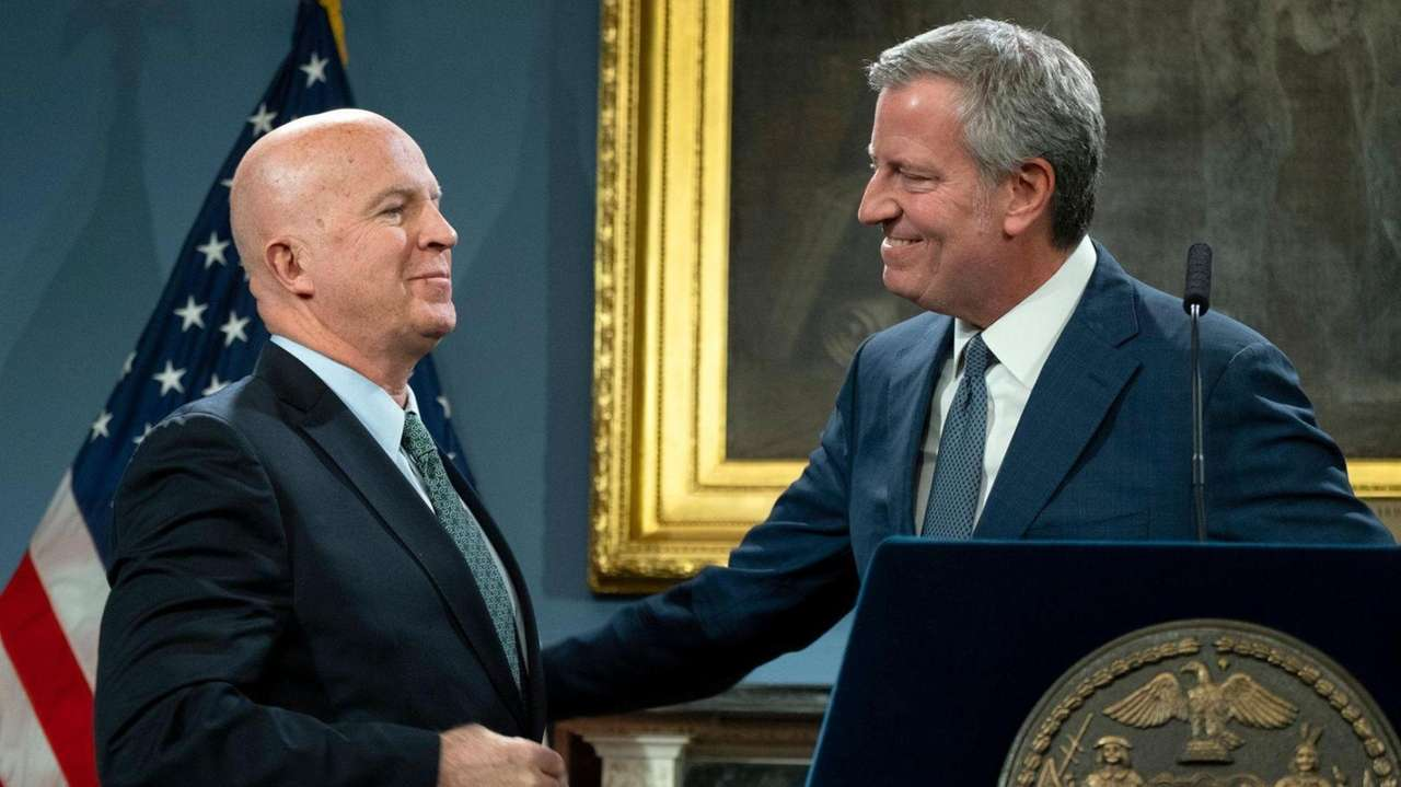 NYPD Commissioner James P. O'Neill, the city's 43rdcommissioner