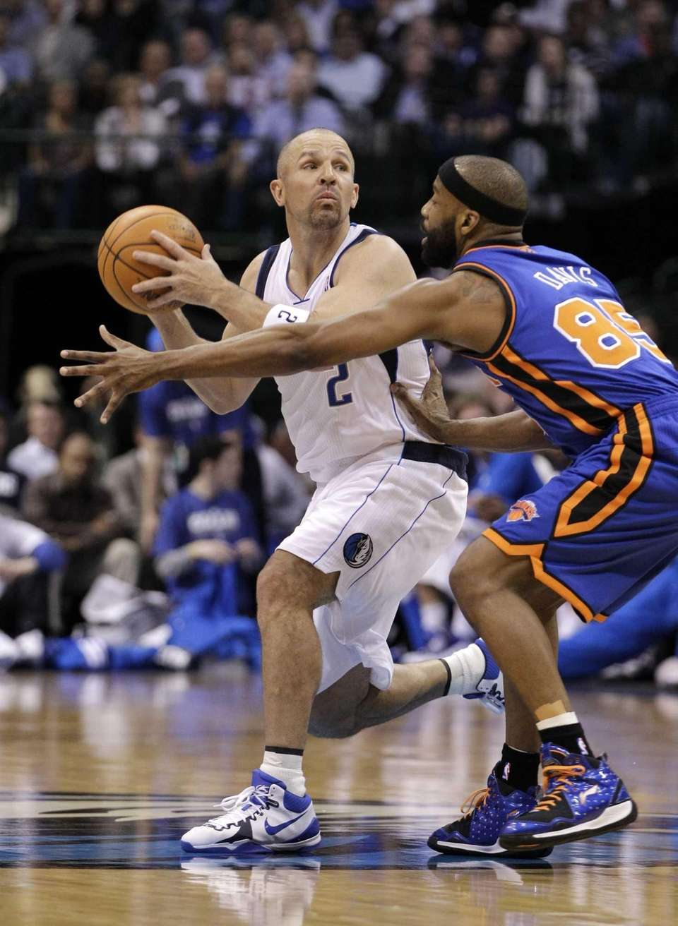 Former Dallas Mavericks' guard Jason Kidd (2) and