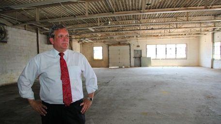 Nassau County Executive Edward Mangano announces, at the