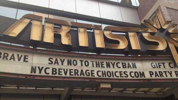 City Movie Theaters Take Fight Against Soda Ban To Marquees Newsday