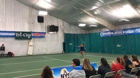 Hewlett's Rachel Arbitman and Nyla Gershfeld defeated Kaya