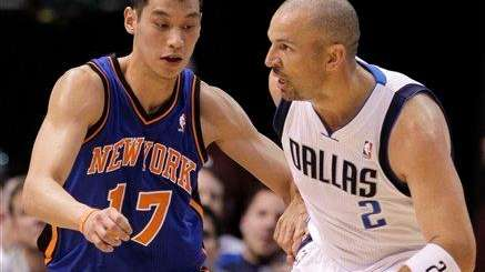 Dallas Mavericks point guard Jason Kidd (2) and