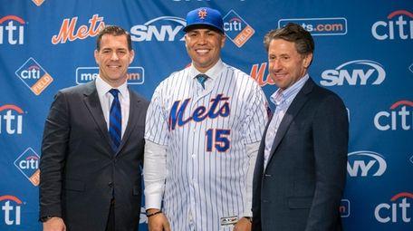 Mets GM Brodie Van Wagenen and Mets COO