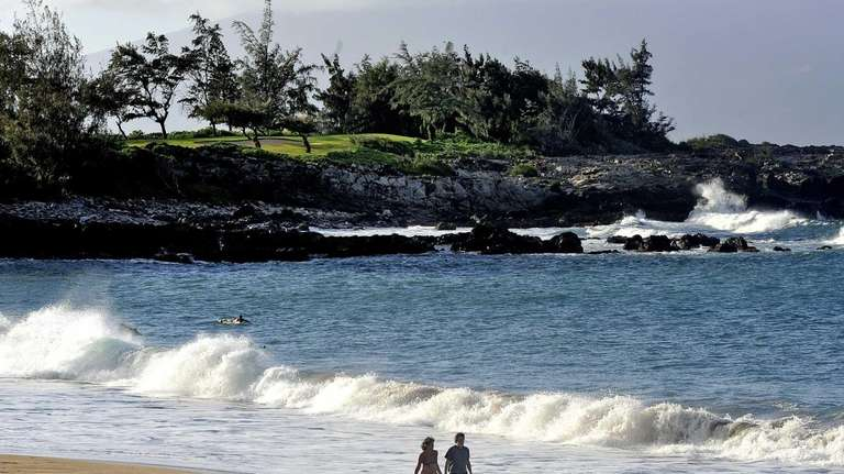 D.T. Fleming Beach near The Ritz-Carlton, Kapalua, is