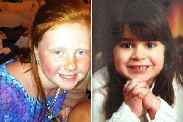 Harlie Treanor, 11, and Victoria Gaines, 8, died