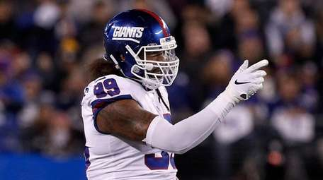Leonard Williams played his first game for the