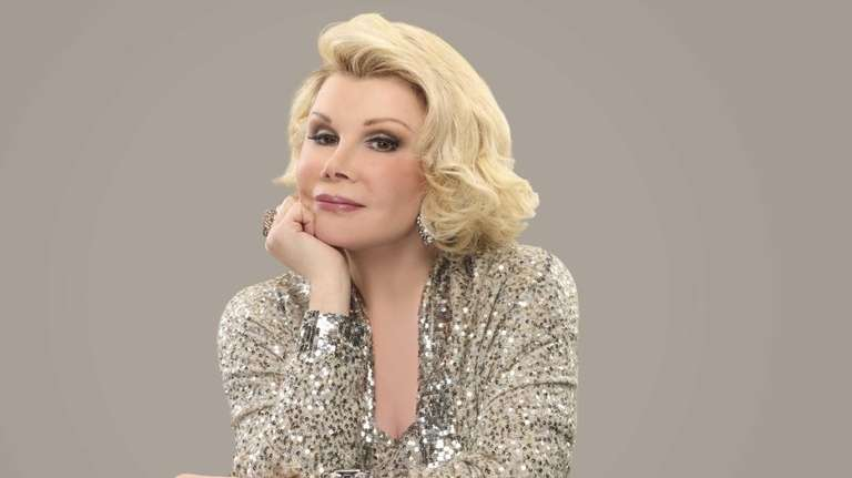 Joan Rivers guest-stars on