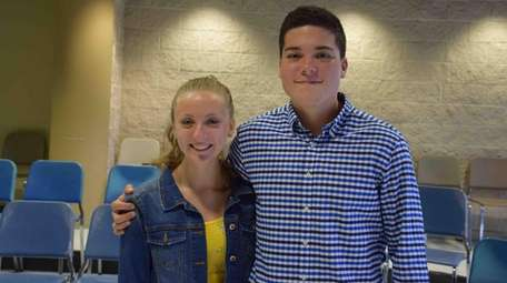 Alexandra Woroniecka and Greyson Nekrutman of Ward Melville