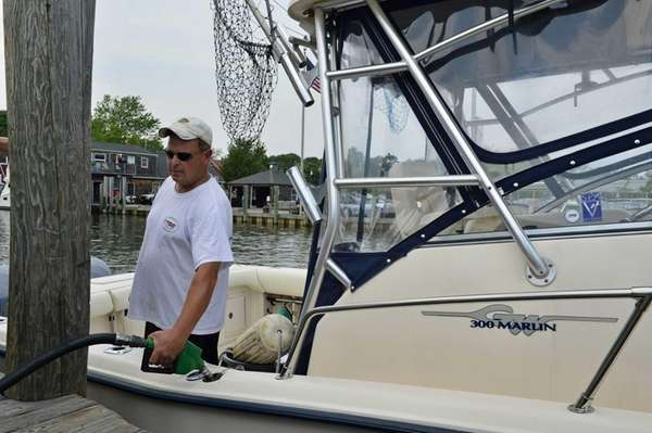 Bob Grossman of West Islip at the Seaborn