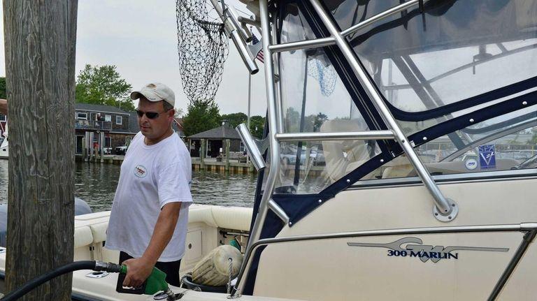 Bob Grossman of West Islip at the Seaborn