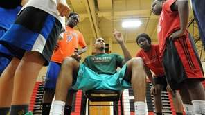 Tobias Harris, NBA player for the Milwaukee Bucks,