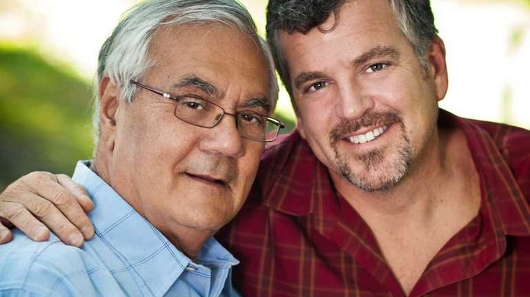 U.S. Rep. Barney Frank, D-Mass., left, and Jim