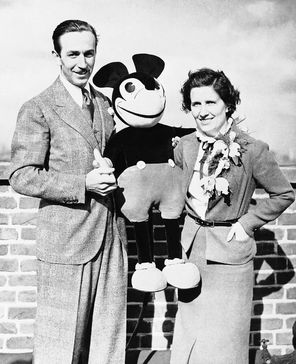 Walt Disney, the man who created Mickey Mouse,