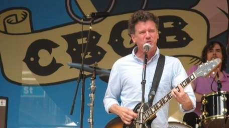 Superchunk's Mac McCaughan plays the CBGB Festival on