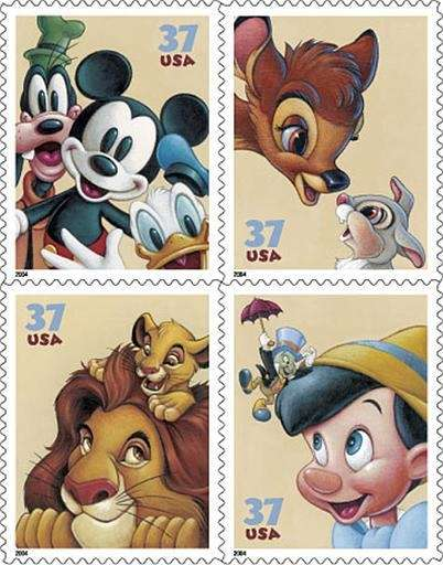 The U.S. Postal Service released a set of